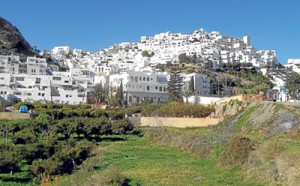 A view of Mojacar pueblo