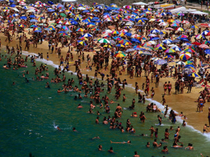 HONEY POT: Spain remains a popular destination with beachgoers