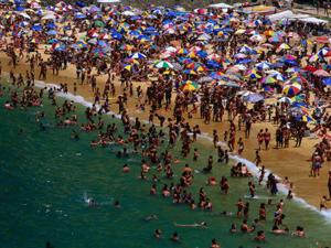 HONEY POT: Spain remains a popular destination with beachgoers