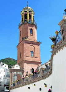 competa church tower