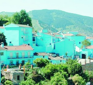 smurf village juzcar genal valley spain