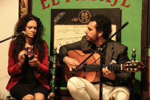 Flamenco el Pasaje Isa and Juanpe