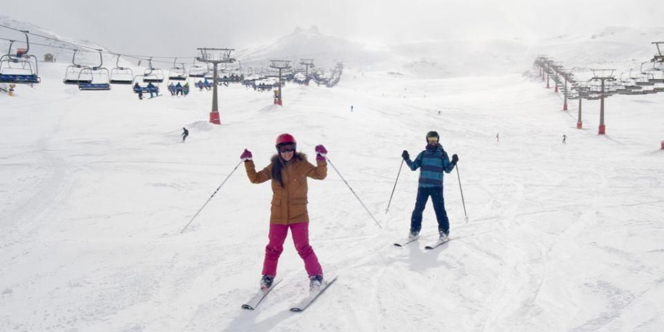 sierra nevada skiing granada spain