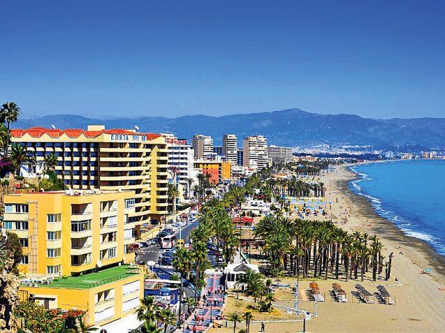 torremolinos beach front