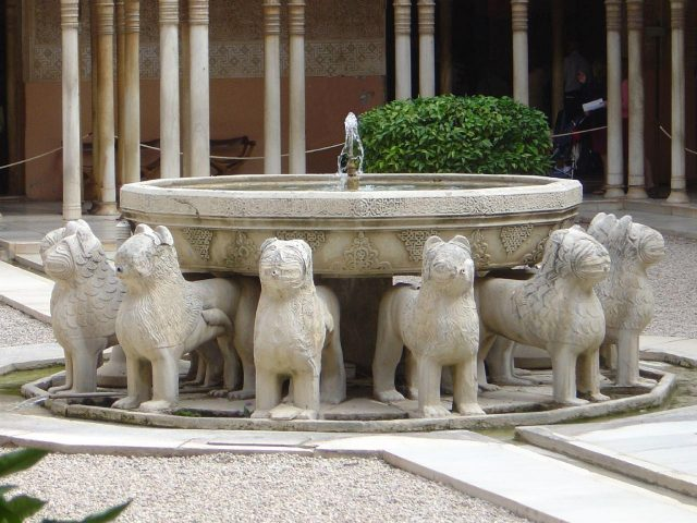 alhambra lion fountain