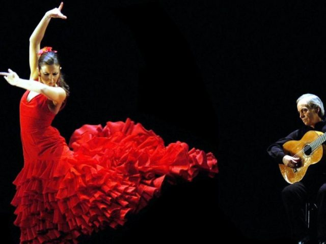 A HUGE celebration of flamenco has spun into action in Malaga.