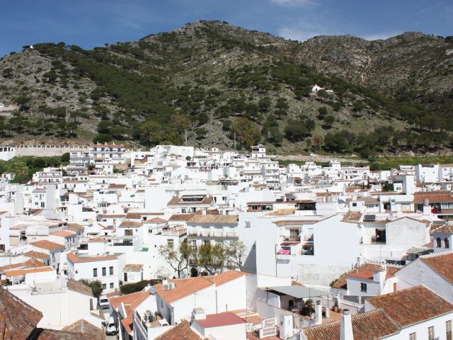 Main piece - View of Mijas
