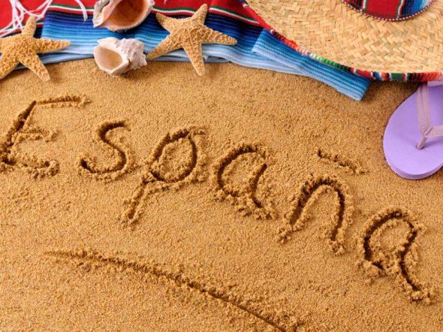 spain espana beach